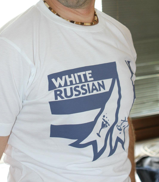 White Russian shirt