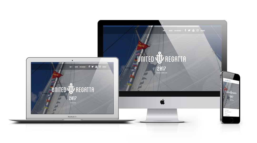 United Regatta responsive design